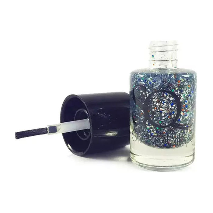 Buy Stay Quirky Nail Polish, Shimmer, Blue - Jibber Jabber 674-Purplle
