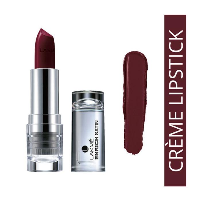 Buy Lakme Enrich Satin Lip Color Shade M427 (4.3 g)-Purplle
