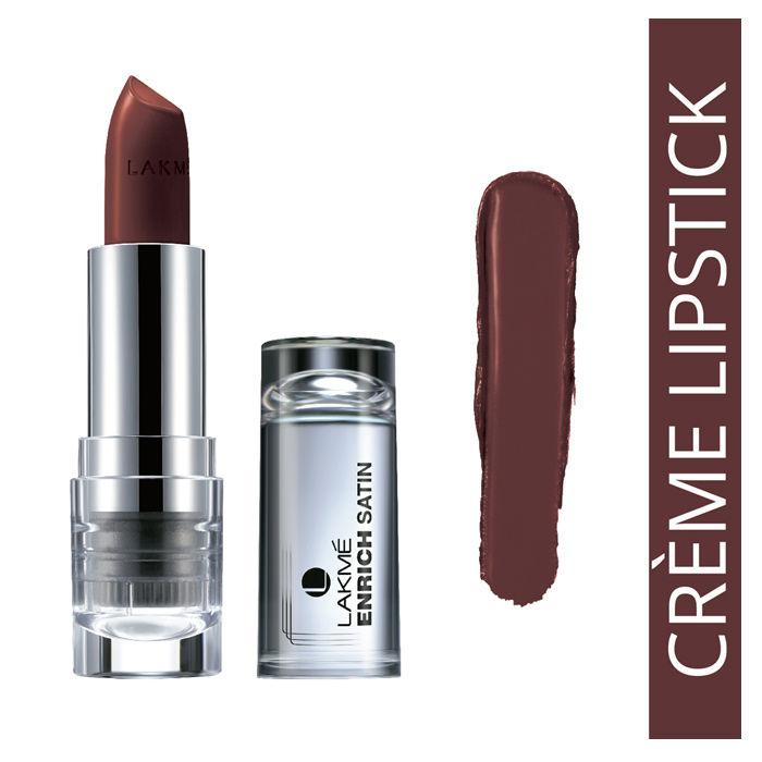 Buy Lakme Enrich Satin Lip Color Shade P130 (4.3 g)-Purplle