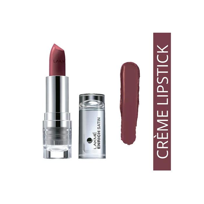 Buy Lakme Enrich Satin Lip Color Shade P152 (4.3 g)-Purplle
