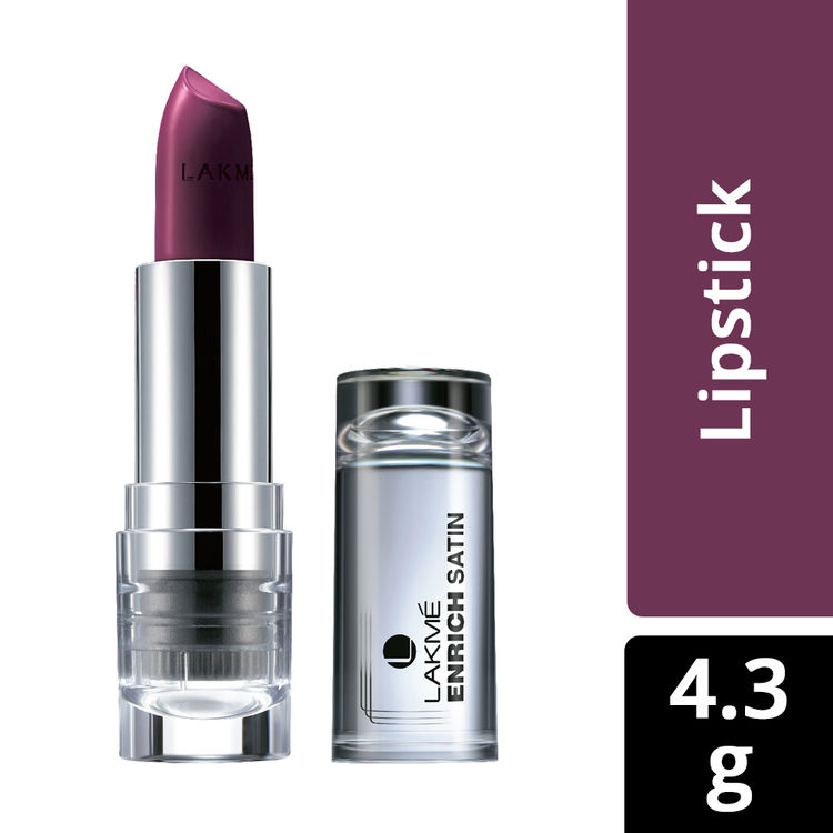 Buy Lakme Enrich Satin Lip Color - Shade W267 (4.3 g)-Purplle