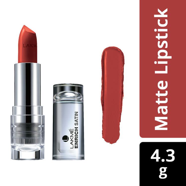 Buy Lakme Enrich Satin Lip Color Shade R357 (4.3 g)-Purplle