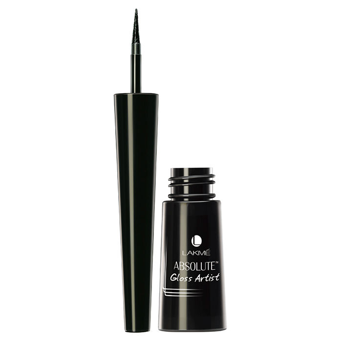 Buy Lakme Absolute Gloss Artist Eye Liner Black (2.5 ml)-Purplle