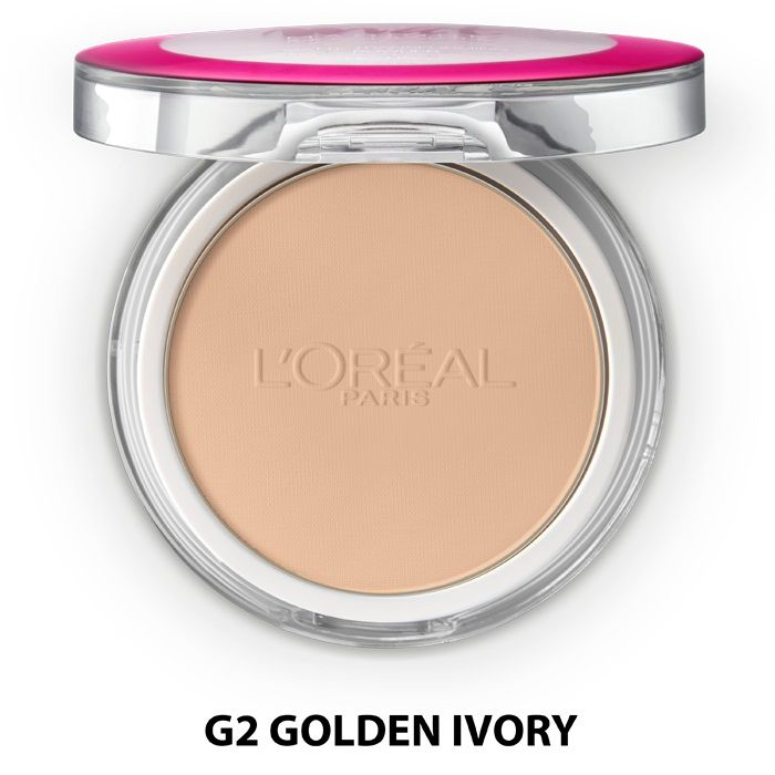 Buy L'Oreal Paris Mat Magique All-In-One Pressed Powder Golden Ivory G2-Purplle