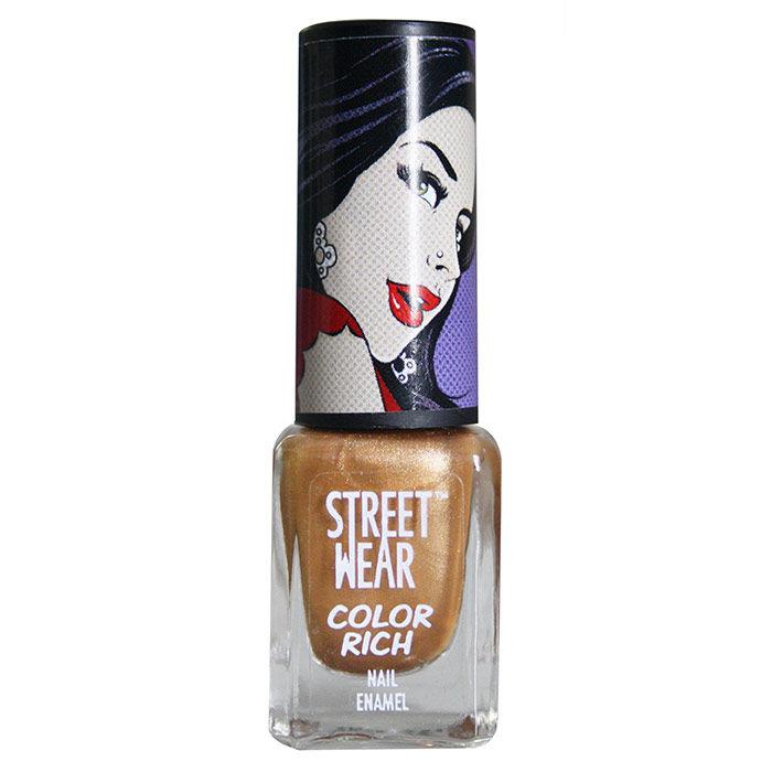 Buy Street Wear Color Rich Nail Enamel Bronzed Babe (5 ml)-Purplle