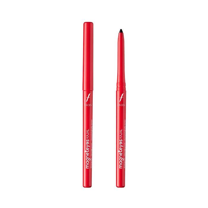 Buy Faces Canada Magneteyes Kajal Black 1 (0.35 g) (Pack Of 2)-Purplle