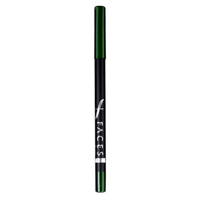 Buy Faces Canada Longwear Eyepencil Forest Green 10 (1.2 g) (Pack Of 2)-Purplle
