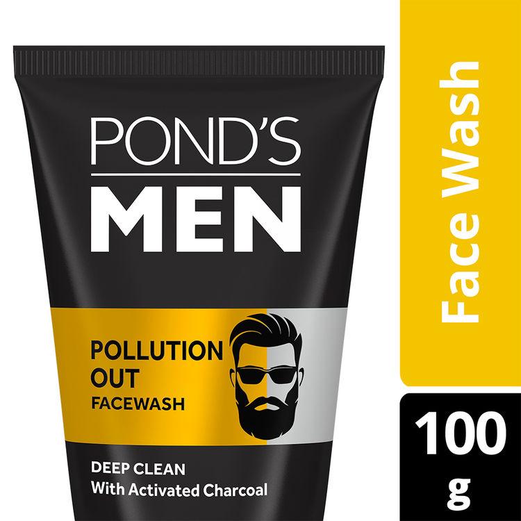 Buy Ponds Menz Pollution Out Facewash (100 g) (P)-Purplle