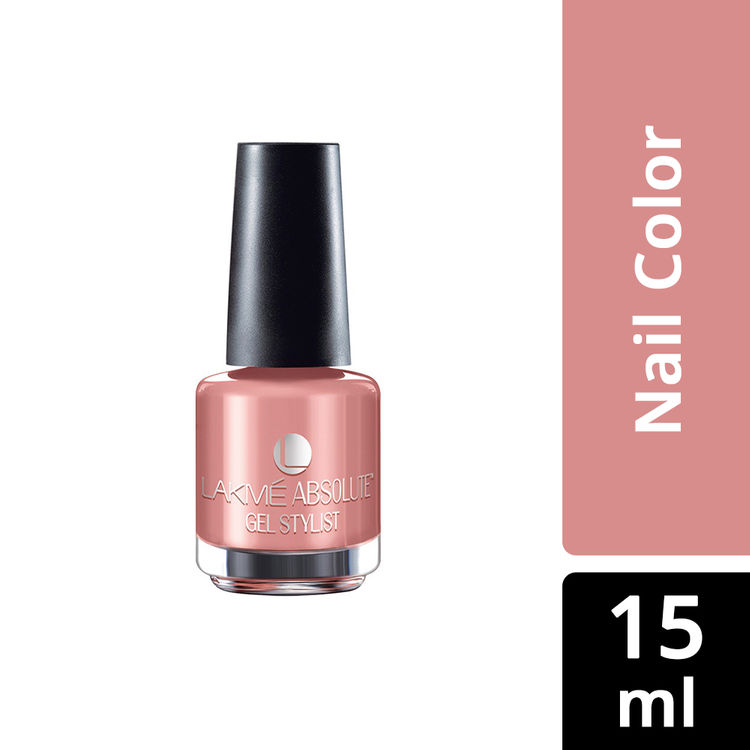 Buy Lakme Absolute Gel Stylist Nail Color - Gold Dust (15 ml)-Purplle