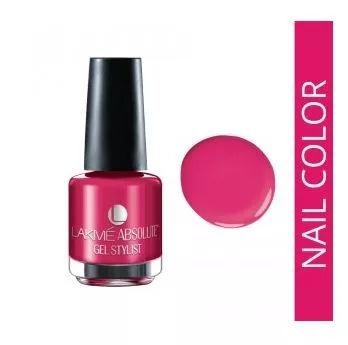 Buy Lakme Absolute Gel Stylist Nail Color - Mauve Passion (15 ml)-Purplle