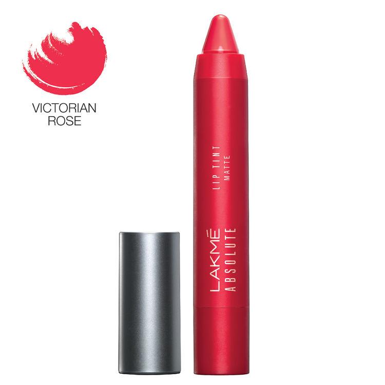 Buy Lakme Absolute Lip Pout Matte Lip Color Victorian Rose (3.7 g)-Purplle