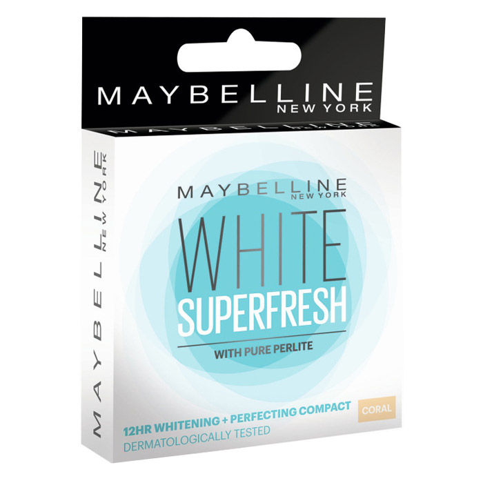 Buy Maybelline New York White Super Fresh Compact Coral (8 g)-Purplle