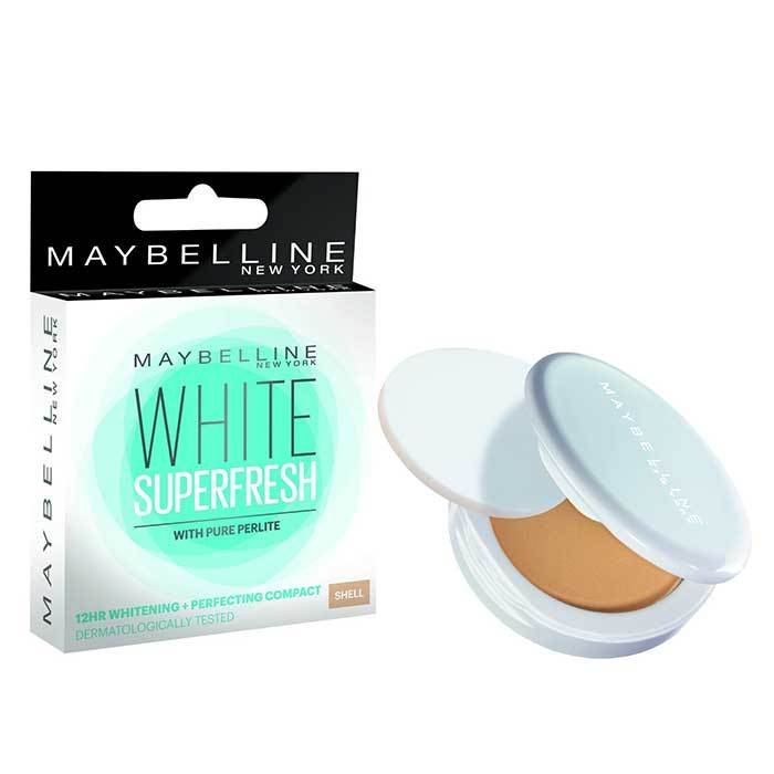 Buy Maybelline New York White Super Fresh Compact Shell (8 g)-Purplle