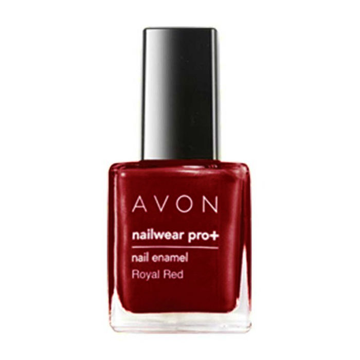 Buy Avon Color Nailwear Pro Plus Royal Red (8 ml)-Purplle