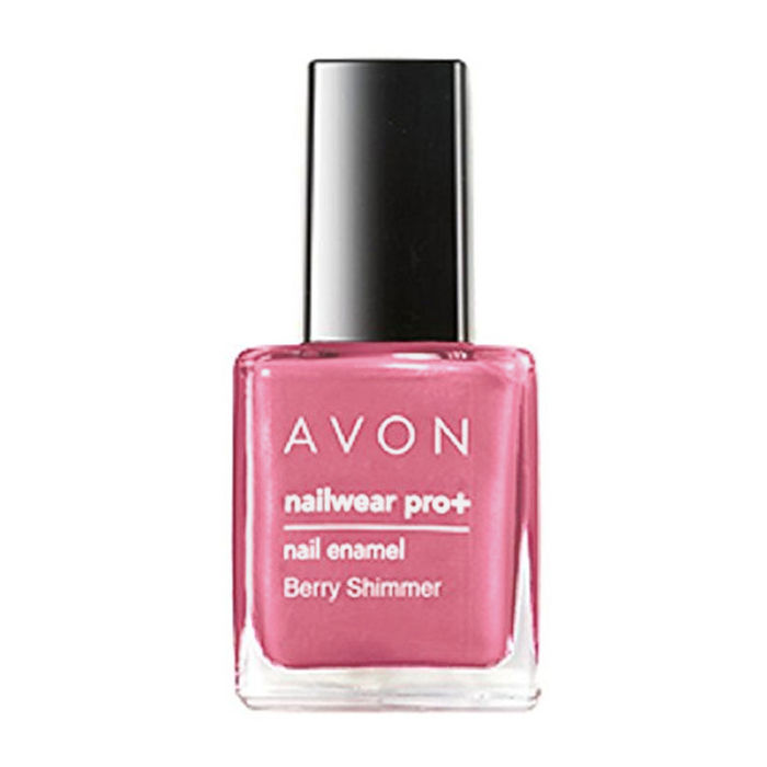 Buy Avon Color Nailwear Pro Plus Berry Shimmer (8 ml)-Purplle