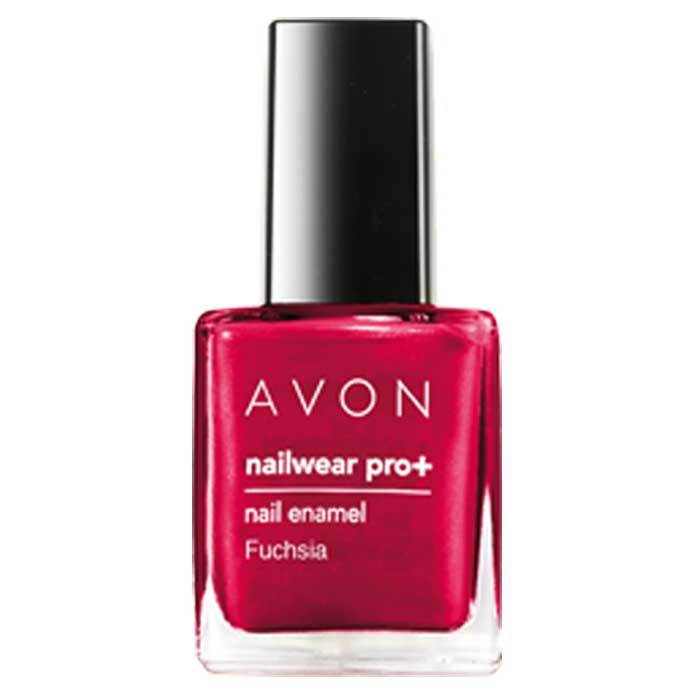 Buy Avon Color Nailwear Pro Plus Fuchsia (8 ml)-Purplle