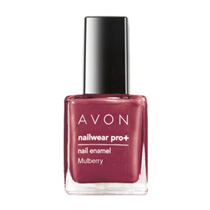 Buy Avon Color Nailwear Pro Plus Mulberry (8 ml)-Purplle