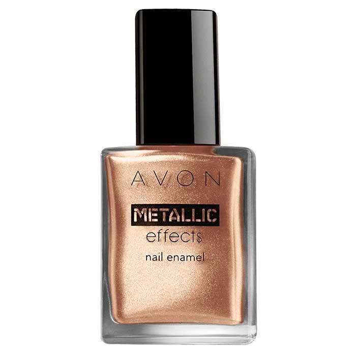 Buy Avon Metallic Effects Nail Enamel Copper Gleam (8 ml)-Purplle