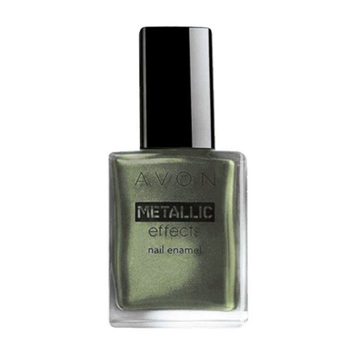 Buy Avon Metallic Effects Nail Enamel Jade Reflection (8 ml)-Purplle