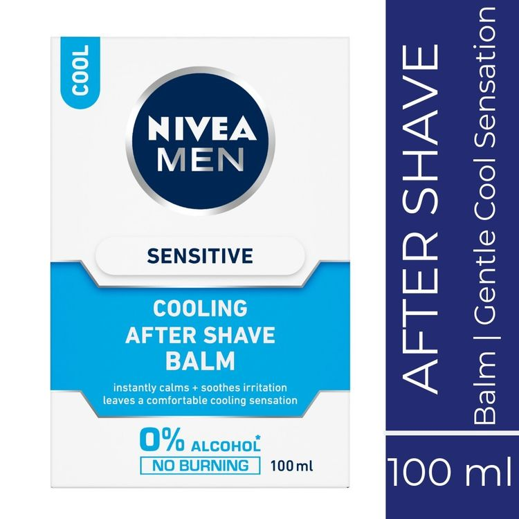 Buy Nivea MEN Shaving, Sensitive Cooling After Shave Balm (100 ml)-Purplle