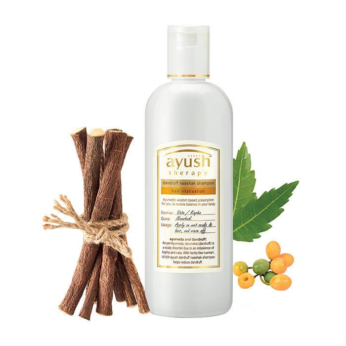 Buy Lever Ayush Dandruff Naashak Shampoo (200 ml)-Purplle