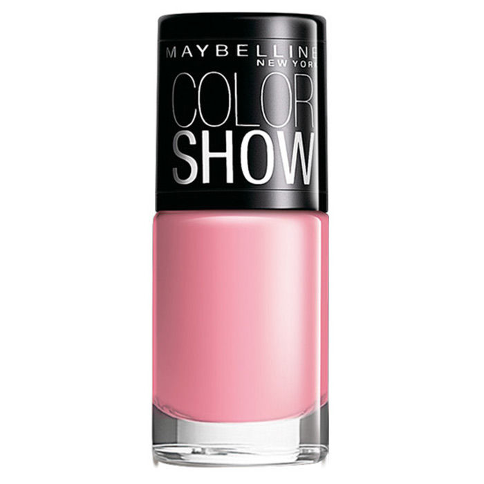 Buy Maybelline Color Show Nail Color Pinkalicious 002 (6 ml) Promo-Purplle