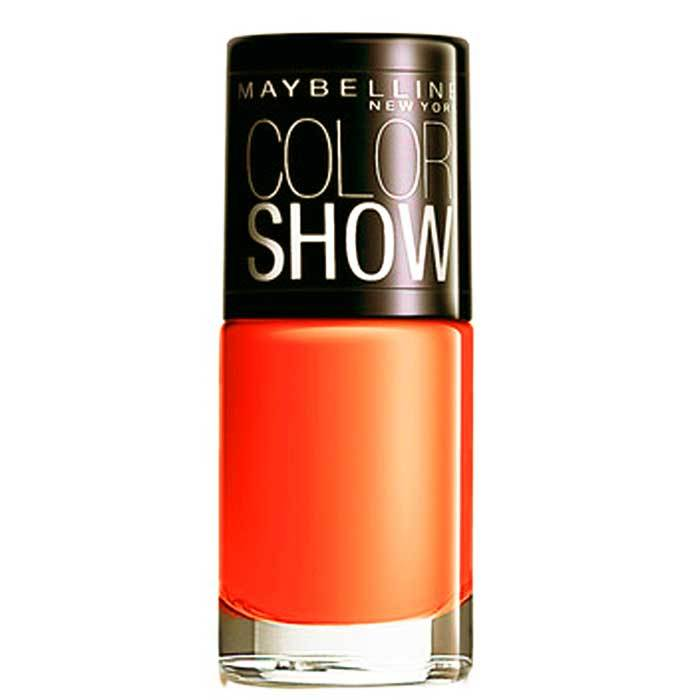 Buy Maybelline New York Color Show Nail Color Orange Fix 214 (6 ml) Promo-Purplle