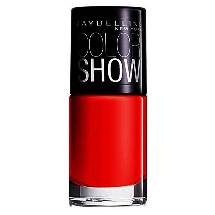 Buy Maybelline Color Show Nail Color Keep Up The Flame 215 (6 ml) Promo-Purplle