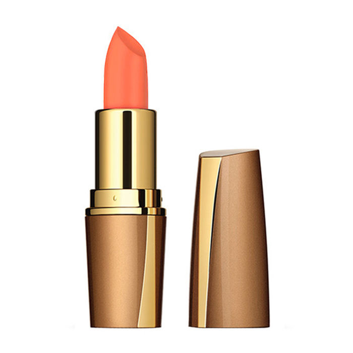 Buy Iba Halal Care Pure Lips Moisturizing Lipstick Shade A52 Neon Peach (4 g)-Purplle