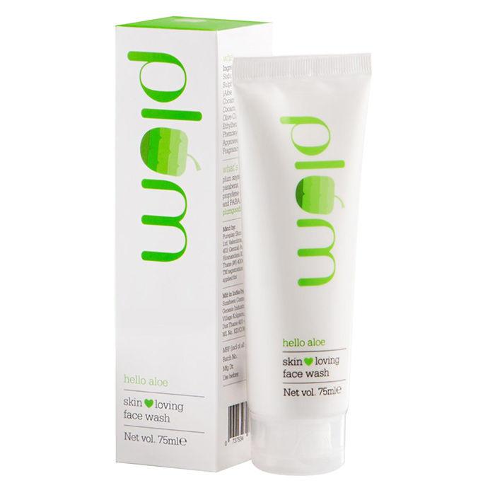 Buy Plum Hello Aloe Skin Loving Face Wash (75 ml)-Purplle