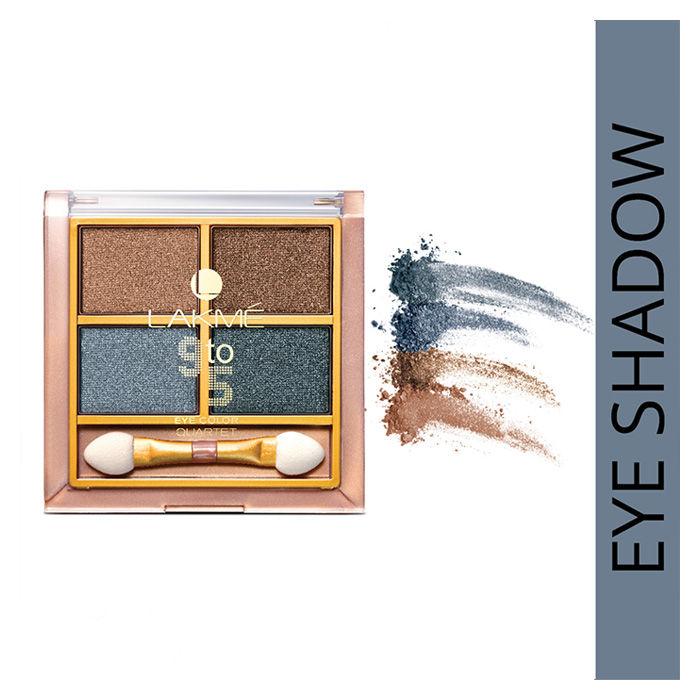 Buy Lakme 9 To 5 Eye Quartet Eyeshadow - Smokey Glam (7 g)-Purplle