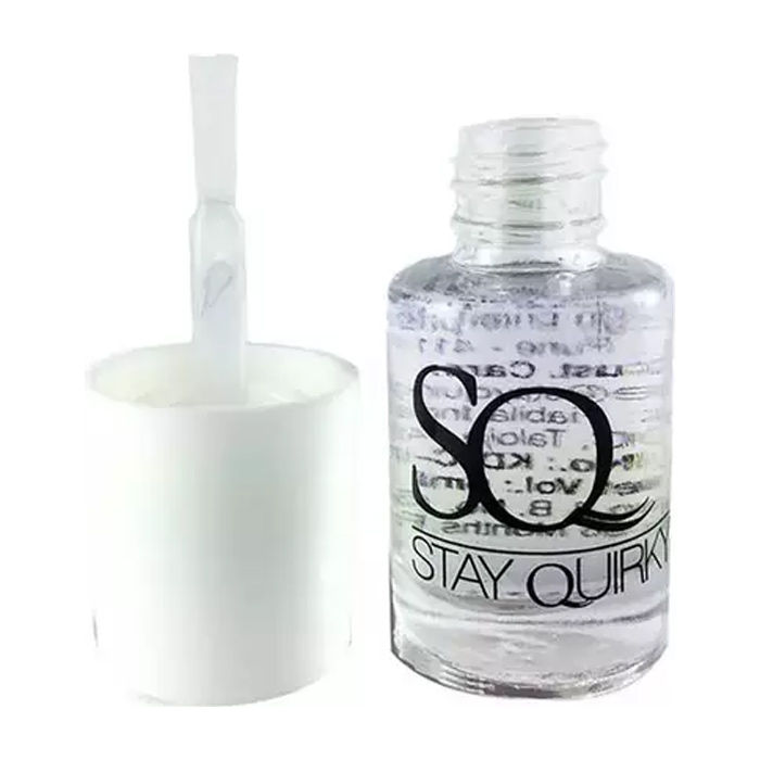 Buy Stay Quirky Nail 2 in 1 Top Coat and Base Coat-Purplle