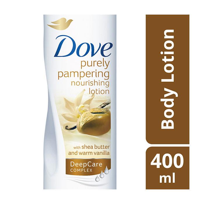Dove Indulgent Nourishment Shea Butter Body Lotion (400 Ml