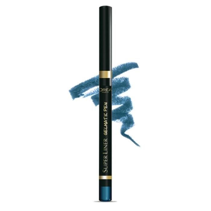 Buy L'Oreal Paris SuperLiner Turbo Turquoise (0.3 g)-Purplle