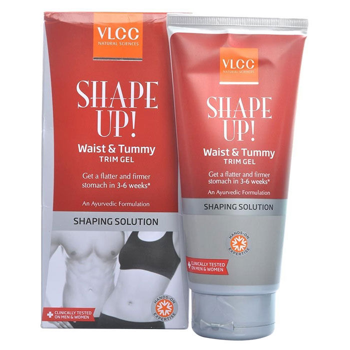 Buy VLCC Shape Up Waist & Tummy Trim Gel (200 g)-Purplle