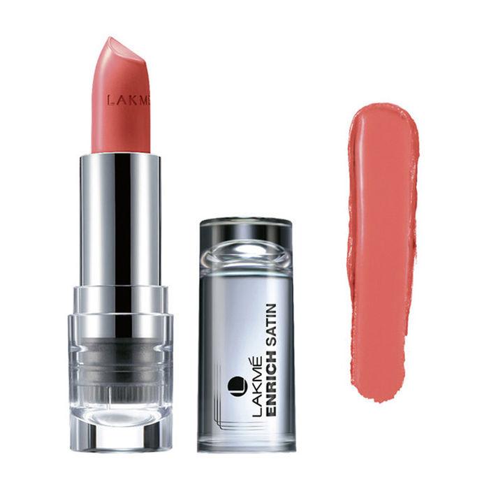 Buy Lakme Enrich Satin Lip Color Shade P143 (4.3 g)-Purplle