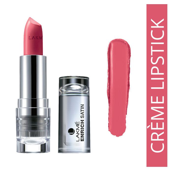 Buy Lakme Enrich Satin Lip Color Shade P161 (4.3 g)-Purplle