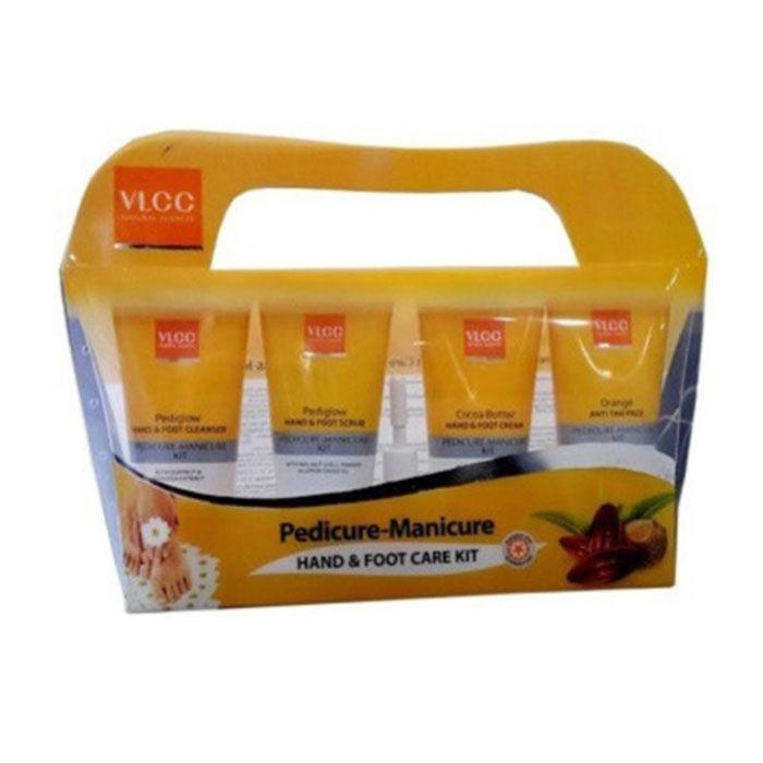 Buy VLCC Pedicure & Manicure Kit (150 g + 60 ml)-Purplle