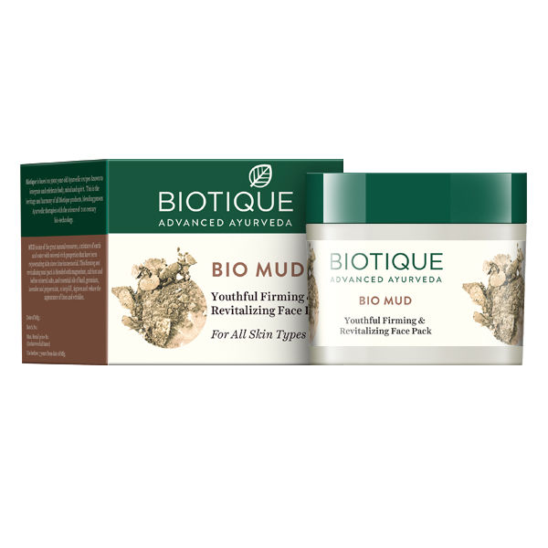 Buy Biotique Bio Mud Youthful Firming & Revitalizing Face Pack (75 g)-Purplle