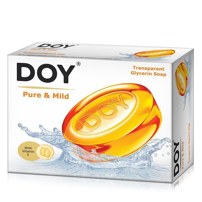 Buy Doy Transparent Soap Pure & Mild (75 g)-Purplle