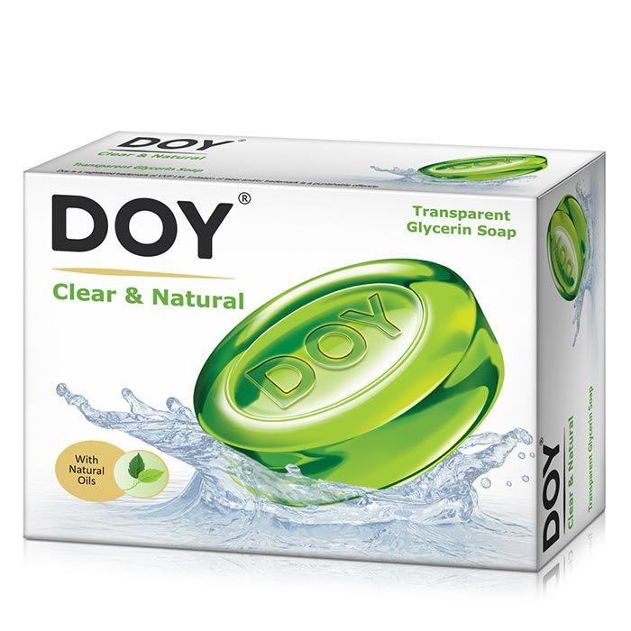 Buy Doy Transparent Soap Clear & Natural (75 g)-Purplle
