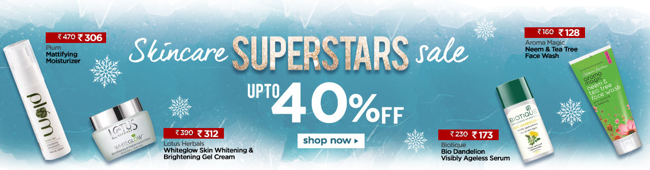 Flat 50% Off Winter Beauty Sale